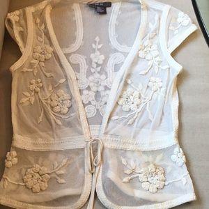 Per Se Size 2 lace top